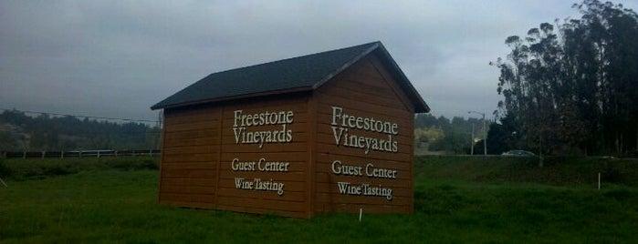 Freestone Vineyards is one of Especially Pet-Friendly Wine Road Members.