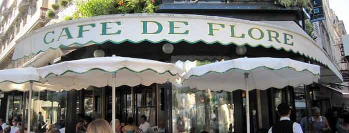 Café de Flore is one of  Paris Eat .