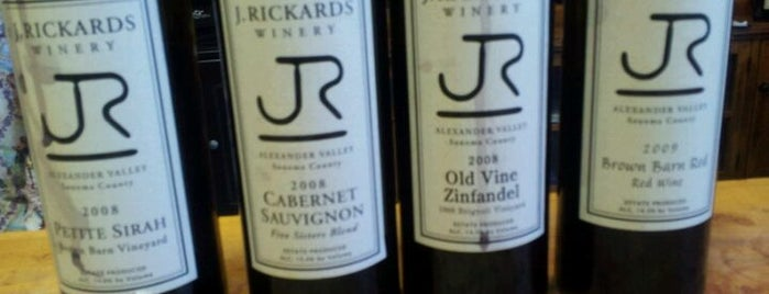 J. Rickards Vineyards and Winery is one of Wine Road Picnicking- al Fresco Perfetto!.
