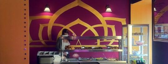 Ganga Vega Cafe is one of Badge ¤ Herbivore.