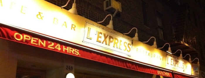 L'Express is one of New York.