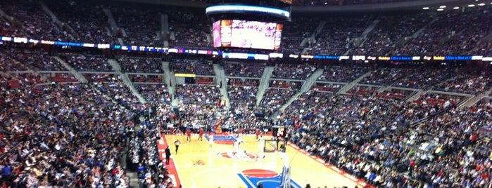 The Palace of Auburn Hills is one of Sport Staduim.