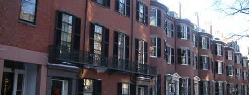 Louisburg Square is one of IWalked Boston's Beacon Hill (Self-guided tour).