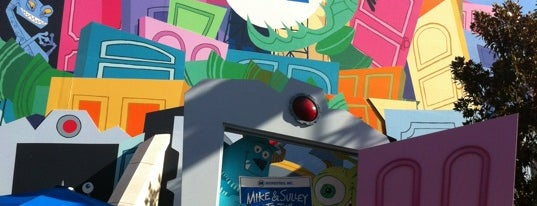 Monsters, Inc. Mike & Sulley to the Rescue! is one of Rides I Done...Rode.