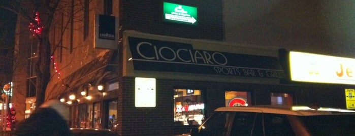 Ciociaro Sports Bar is one of Bar<3.