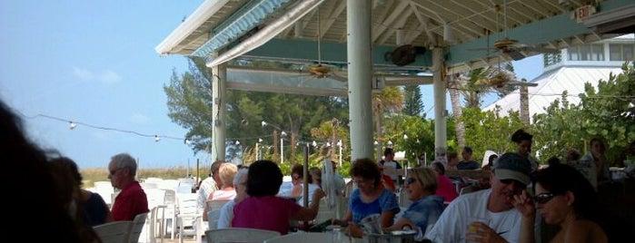 The Sandbar Restaurant is one of Best Outdoor Eating / Drink Spots.