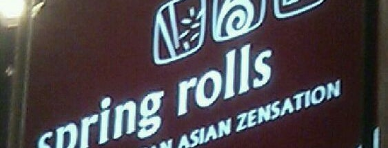 Spring Rolls is one of to.