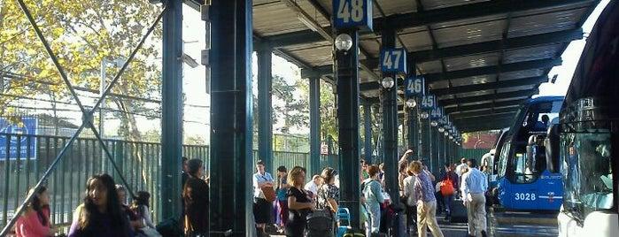 Terminal de Buses Santiago is one of malloco.