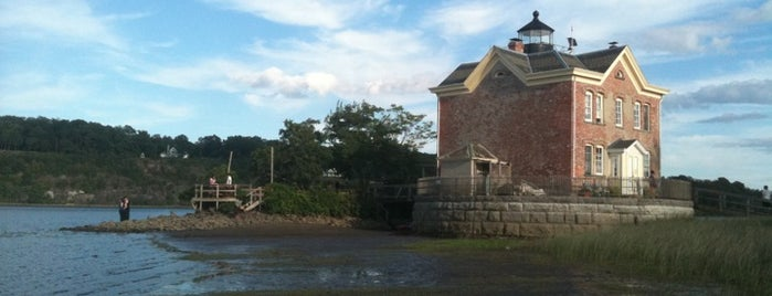 Saugerties Lighthouse is one of Stay at a Lighthouse Hotel.