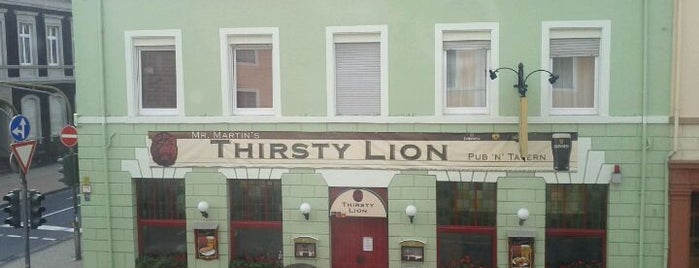 Thirsty Lion is one of Die 30 beliebtesten Irish Pubs in Deutschland.