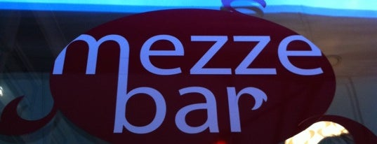 Mezzebar is one of Food in Ghent on mondays.