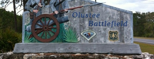 Olustee National Battlefield is one of Parks & Trails.