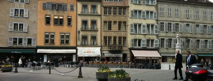 Place du Bourg de Four is one of Genève City Guide.