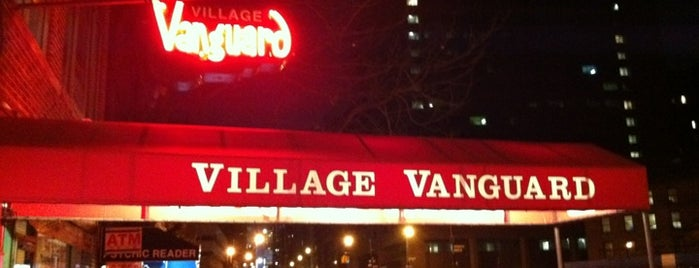 Village Vanguard is one of New York for the 1st time !.