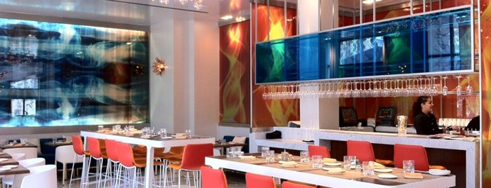 Kelvin at Renaissance San Diego Downtown Hotel is one of Nolfo California Foodie List.