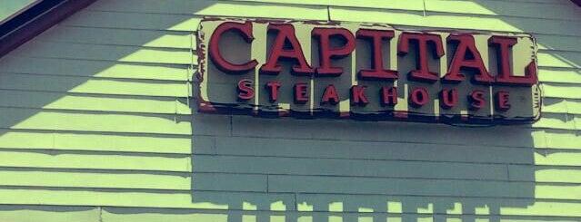 Capital Steakhouse is one of Restaurantes em Brasília #1.
