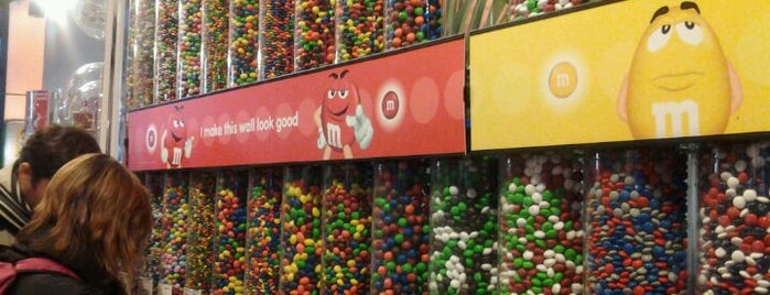 M&M's World is one of NYC to do.