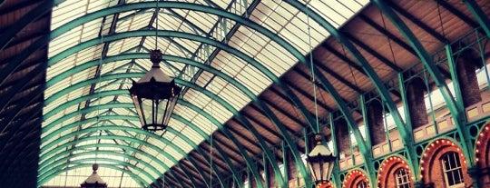 Covent Garden Market is one of LONDON RESTAURANTS.