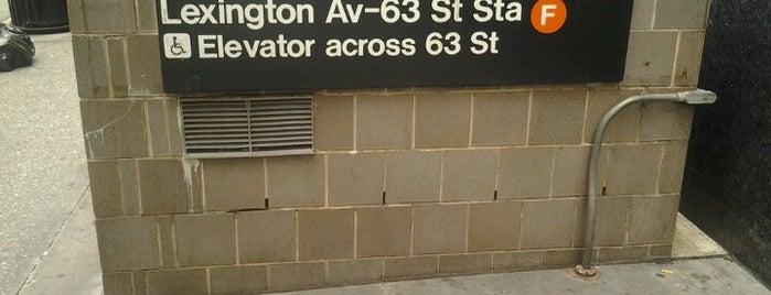 MTA Subway - Lexington Ave/63rd St (F/Q) is one of MTA Subway - F Line.