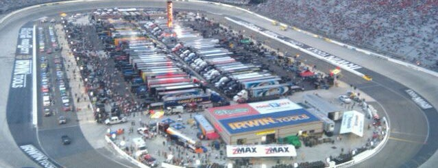 Bristol Motor Speedway is one of Great Sport Locations Across United States.