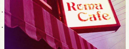Roma Cafe is one of Detroit Lunch Bus.
