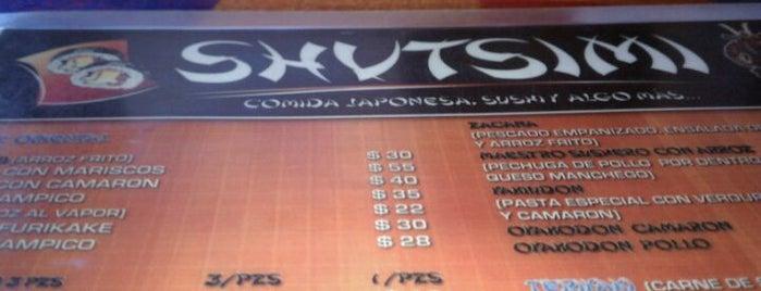 Shutsimi is one of Comida japonesa y más.