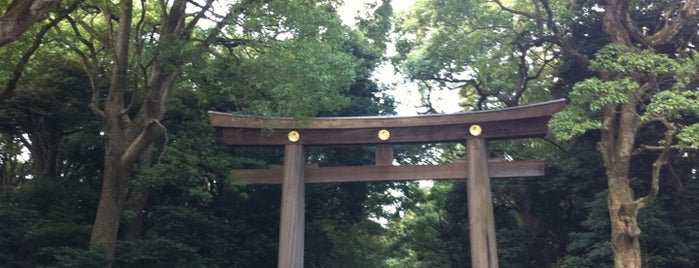 Meiji Jingu Shrine is one of tokyo.