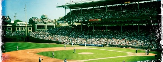 Wrigley Field is one of The Crowe Footsteps.