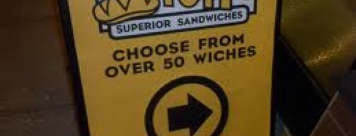 Which Wich? Superior Sandwiches is one of Favorite Places.
