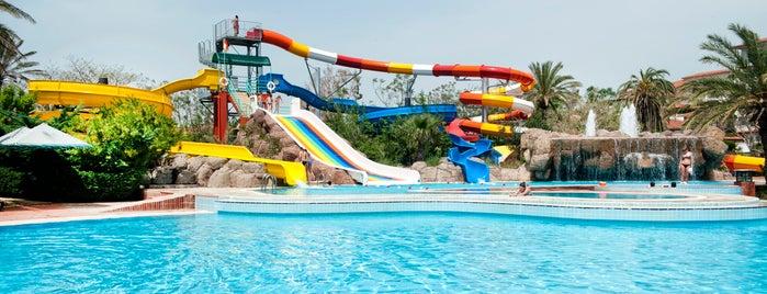 Belconti Resort Aquapark is one of antalya~ alanya~ side~belek.