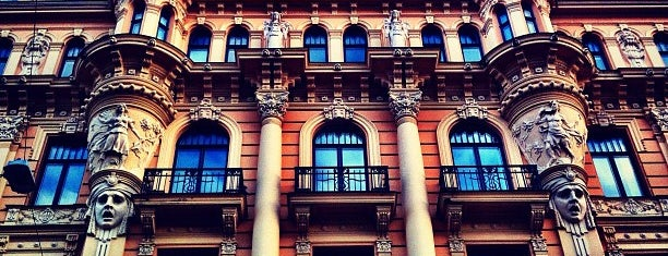 Alberta iela | Albert Street is one of The RigaTalk Walk.