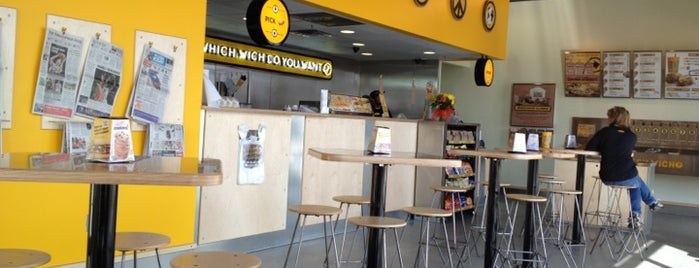 Which Wich? Superior Sandwiches is one of The 15 Best Places with Good Service in Indianapolis.
