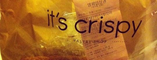 it's crispy is one of Bread.