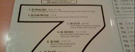 Saigon Pagolac is one of HOU Asian Restaurants.