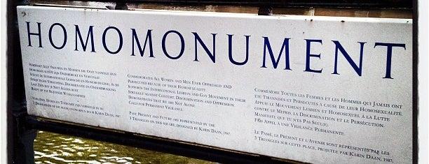 Homomonument is one of Amsterdam.