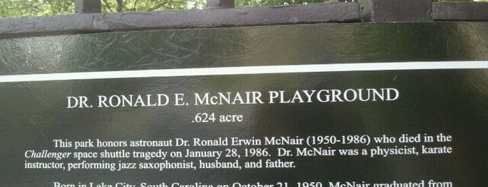 Dr. Ronald McNair Park is one of USA NYC BK Crown Heights.