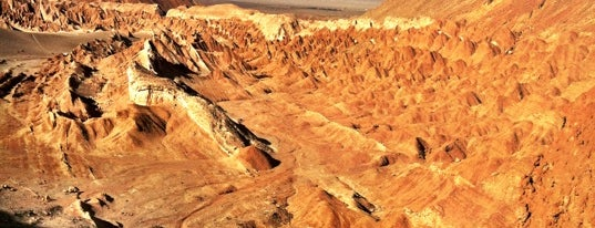 Valle de La Luna is one of Atacama.