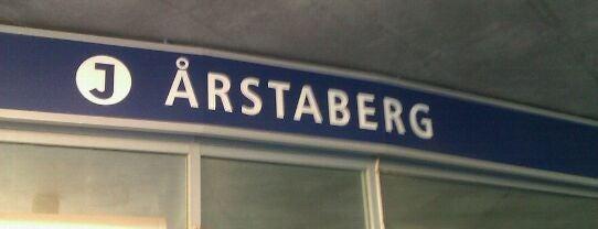 Årstaberg (J) is one of SE - Sthlm - Pendeltåg.
