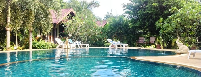 Baan Suan Resort is one of Thailand TOP places.