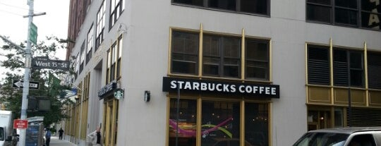 Starbucks is one of West Village & Chelsea Cafes.