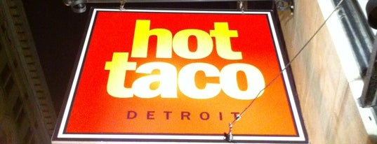 Hot Taco is one of The 15 Best Places for Burritos in Detroit.