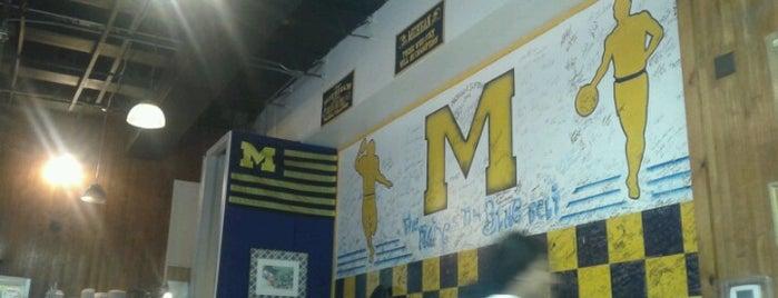 Maize N Blue Deli is one of Ann Arbor bucket list.