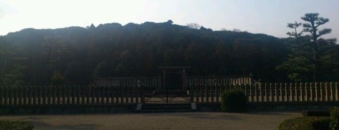 應神天皇 惠我藻伏崗陵 (誉田御廟山古墳) is one of 天皇陵.