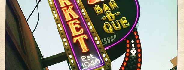 Market Bar-B-Que is one of date night.