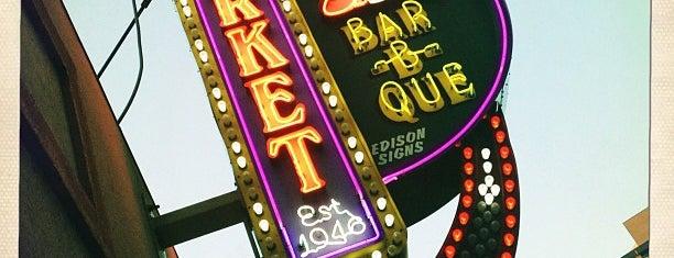 Market Bar-B-Que is one of Restaurants.