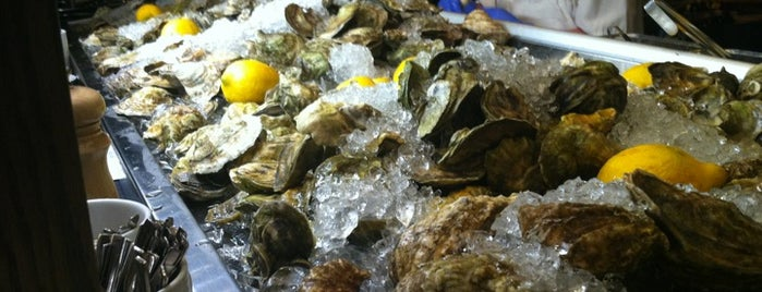 Island Creek Oyster Bar is one of 50 Best Restaurants.