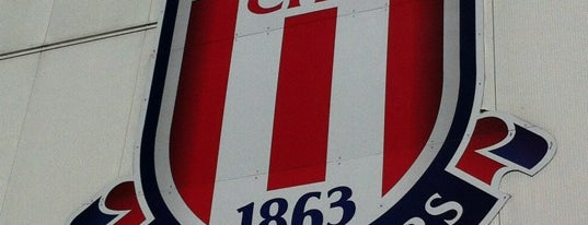 Britannia Stadium is one of Barclays Premier League Stadiums 2013-14 Season.