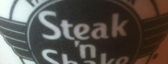 Steak 'n Shake is one of Favorite Food.