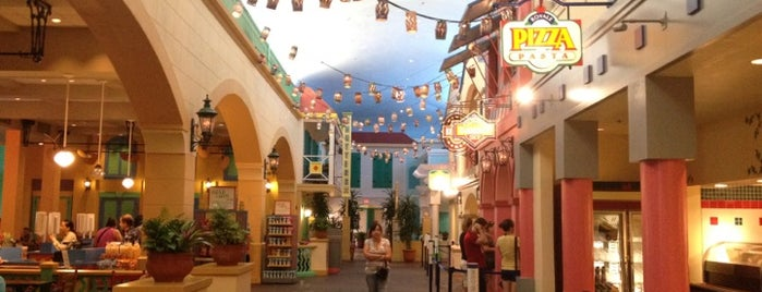 Old Port Royale Food Court is one of Disney Adventure.