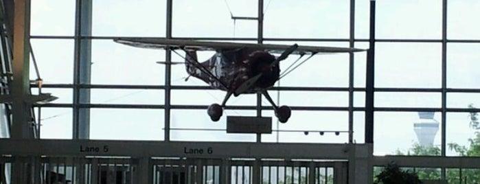 St. Louis Lambert International Airport (STL) is one of St. Louis, MO.